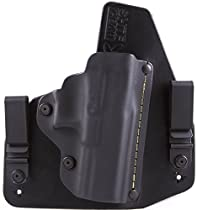 Ruger LCR .357 Mag IWB Hybrid Holster with Adjustable Retention and Comfort Curve, SHTF Gear ACE-1 Gen 2