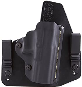S&W M&P Shield Right-handed IWB Hybrid Holster with Adjustable Retention and Comfort Curve, SHTF Gear ACE-1 Gen 2