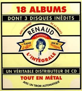 Coffret 18 CD : Renaud - Intégrale