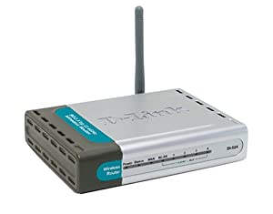 D-Link DI-524 Wireless 54 Mbps High Speed Router
