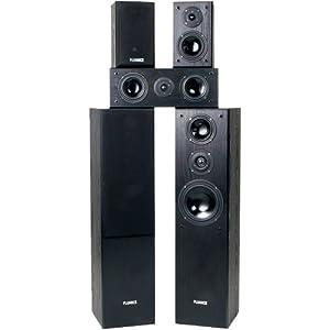 Fluance AVHTB+ Surround Sound Home Theater 5 Speaker System