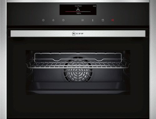 Neff C18FT56N0B Compact steam oven Stainless steel