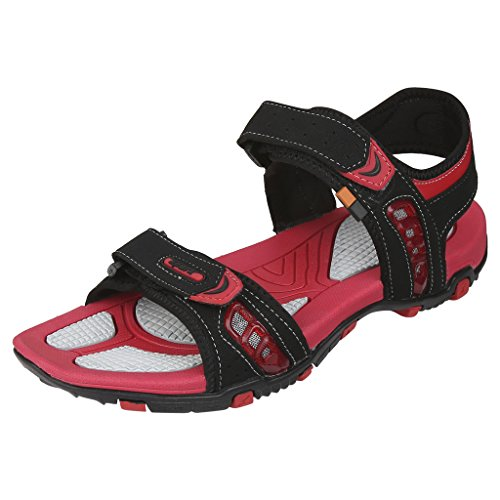 Sparx-Mens-SS0445G-Series-Black-Red-Synthetic-Casual-Sandal