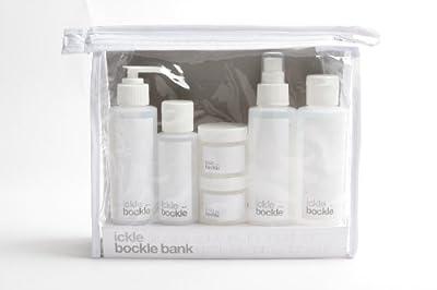 Bockle Bank Travel Bottles Set - Flight Friendly Bottles from Ickle Bockles by Ickle Bockles