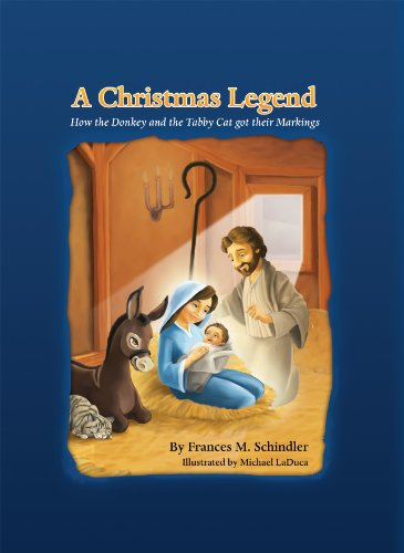 A Christmas Legend: How the Donkey and the Tabby Cat Received their Markings