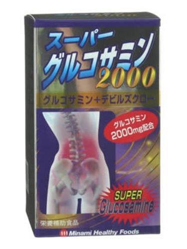 ミナミ スーパーグルコサミン2000 180粒