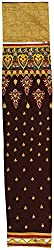 HARRA Women's Cotton Unstitched Dress Material(UMA - 2157, D/Brown)
