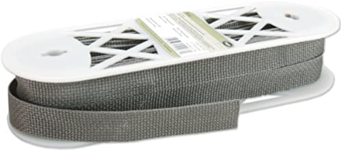 Wrights Polyester Webbing 1-Inch by 15-Yard Dark Grey