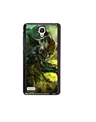 Aart Designer Luxurious Back Covers for Redmi Note/ Note 4G + 3D F1 Screen Magnifier + 3D Video Screen Amplifier Eyes Protection Enlarged Expander by Aart Store.