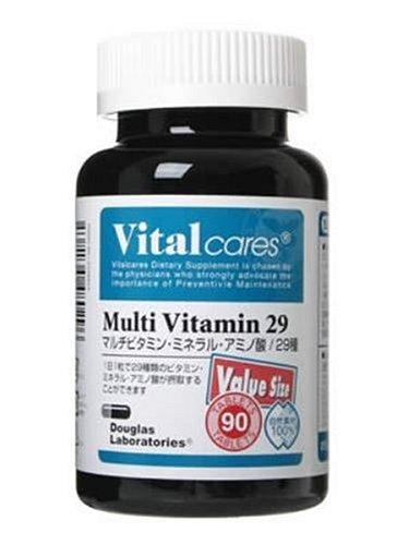 バイタルケアーズ マルチビタミン29 バリューサイズ 90粒