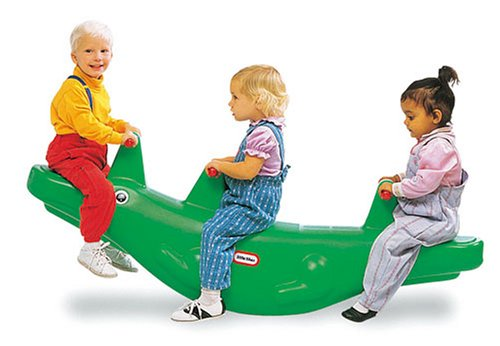 Little Tikes Classic Alligator Teeter Totter