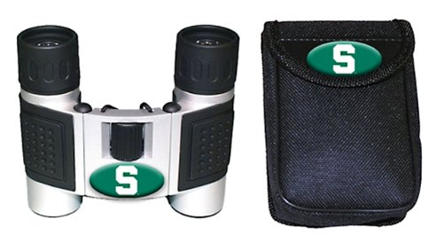 Ncaa Michigan State Spartans High Powered Compact Binoculars With Case