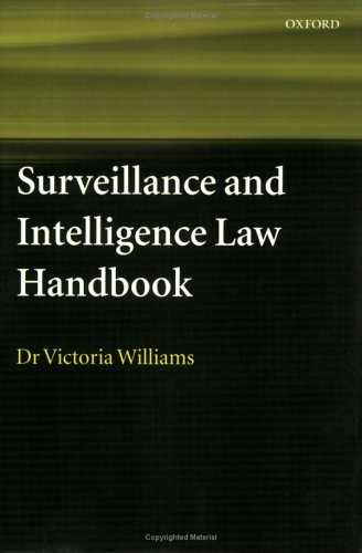 Surveillance and Intelligence Law Handbook