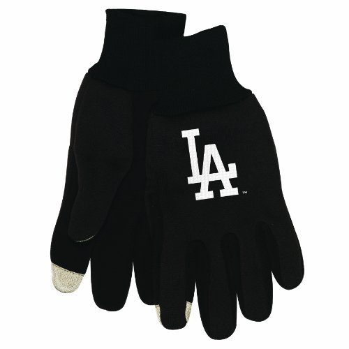 MLB Los Angeles Dodgers Technology Touch Gloves at Amazon.com