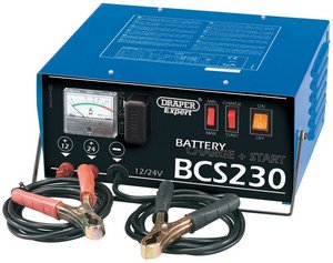 Draper 40179 230A Battery Starter Charger