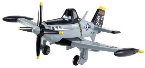 Disney PLANES 1:55 Die Cast Plane Navy Dusty Crophopper [Jolly Wrenches]