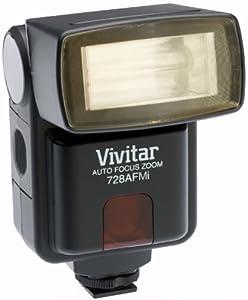 Vivitar 728AF AutoFocus Zoom Electronic Flash for Minolta I Camera