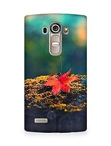 Amez designer printed 3d premium high quality back case cover for LG G4 (autumn leaf nature)