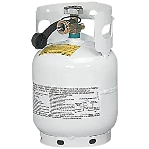 Manchester 10504TC5 White Steel Vertical LP Gas Tank - 20 lb. Capacity at Sears.com