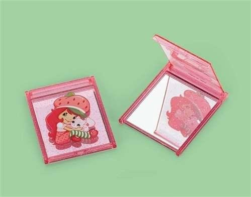 STRAWBERRY SHORT CAKE PARTY FAVOR COMPACT COUNT MIRRORS 4 COUNT