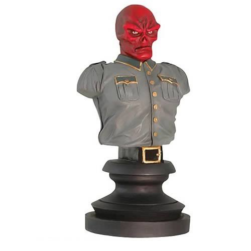 Marvel Icons: Red Skull Bust - Buy Marvel Icons: Red Skull Bust - Purchase Marvel Icons: Red Skull Bust (Marvel Statues, Busts, Prop Replicas, Toys & Games,Categories,Action Figures,Statues Maquettes & Busts)