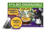 The ORGANIC COFFEE COMPANY JAVA LOVE 12 ONE CUPS for Keurig K-Cup Brewers