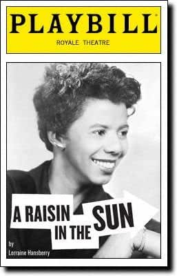 Brand New Playbill from A Raisin in the Sun starring Sean Combs Audra McDonald Phylicia Rashad Sanaa Lathan Sean Combs aka P Diddy Puff Daddy Diddy Written by Lorraine Hansberry