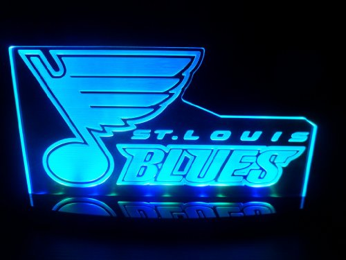 St. Louis Blues Hockey Led Desk Lamp Night Light Beer Bar Bedroom Game Room Signs