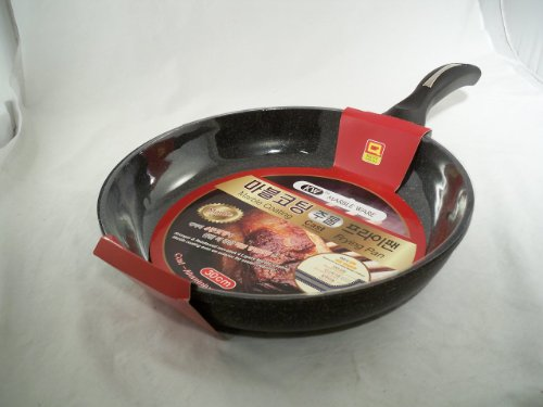 Ceramic Marble Coated Cast Aluminium Non Stick Fry Pan 30cm(12 inches) (Marble Coated Frying Pan compare prices)