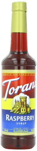 Torani Syrup, Raspberry, 25.4 Ounce (Pack of 4)