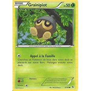 Nintendo - Carte Pokémon 5/106 GRAINIPIOT Série XY Étincelles NEUVE FR - Vendeur Carte-Mania votre spécialiste.