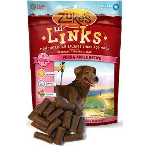 Zuke'S - Lil Links Dog Treats Pork & Apple Recipe - 6 Oz. Clearance Priced