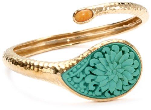 Bronzed by Barse Turquoise Cinnabar Bracelet