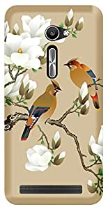 TrilMil Printed Designer Mobile Case Back Cover For Asus Zenfone 2 ZE500CL