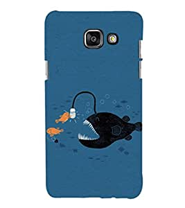 EPICCASE Eco-friendly fish Mobile Back Case Cover For Samsung Galaxy A3 (Designer Case)
