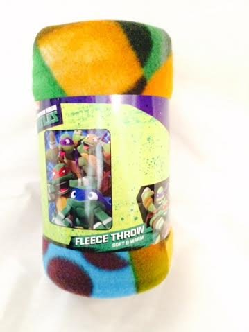 "Nickelodeon Teenage Mutant Ninja Turtles 40""x 50"" Fleece Throw - 1"