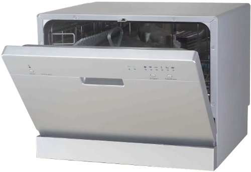SPT-SD-2201S Countertop Dishwasher in Silver