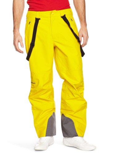 Marmot Herren Skihose Spire Pant, Dark Yellow, S, R7051-9075-3