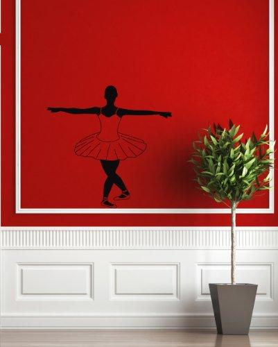 Housewares Wall Vinyl Decal Dancer Girl Ballet Ballerina Sport Home Art Decor Kids Nursery Removable Stylish Sticker Mural Unique Design For Any Room front-1032099