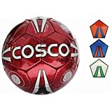 Cosco Italia Football, Size 3 (Dark Blue/Sky Blue/Silver)