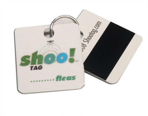 Shoo! flea and tick barrier tag for cats