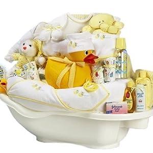 rub a dub tub gender neutral new baby bath time gift basket valentines easter or. Black Bedroom Furniture Sets. Home Design Ideas