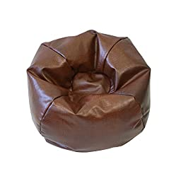 Gold Medal Small/Toddler Snakeskin Vinyl Bean Bag, Caramel