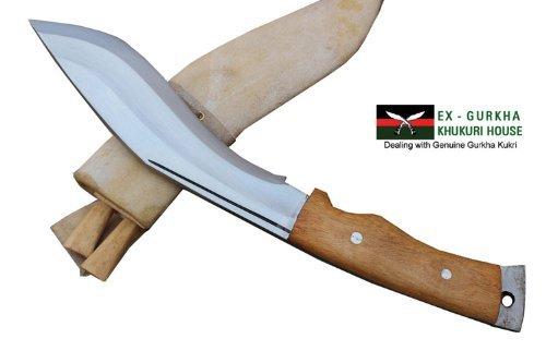 "Genuine Gurkha Aeof Kukri - 8"" Hand Forged Blade Authentic British Gurkha Mini Afghan Khukuri - Handmade By Ex Gurkha"