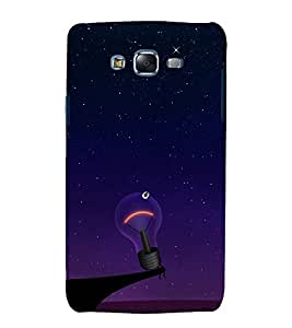printtech Bulb Funny Abstract Back Case Cover for Samsung Galaxy Core 2 G355H
