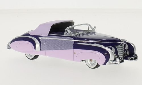 cadillac-series-62-saoutchik-convertible-purple-dark-pink-1948-model-car-ready-made-minichamps-143