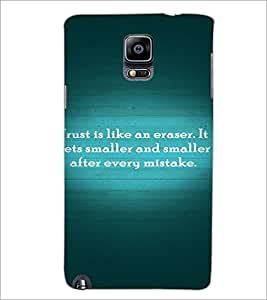 PrintDhaba Quote D-2893 Back Case Cover for SAMSUNG GALAXY NOTE 3 (Multi-Coloured)
