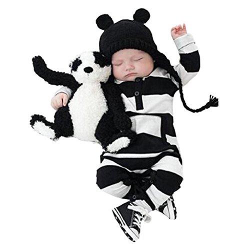 covermason-baby-jungen-madchen-baumwolle-romper-strampler-jumpsuit-bodysuit-kleidung-70-schwarz