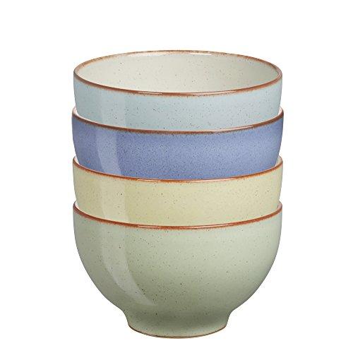 덴비 헤리티지 스몰 볼 4개 세트 (밥그릇 용) Denby USA Heritage Assorted Small Bowls (Set of 4), Multicolor[