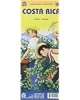 COSTA-RICA - 1/300.000  WATERPROOF